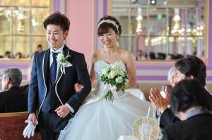 結婚式の笑顔!