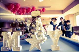 おしゃれ花嫁に人気!【マーキーライト】