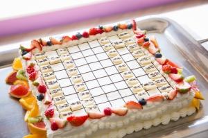 趣味全開!将棋のウェディングケーキ