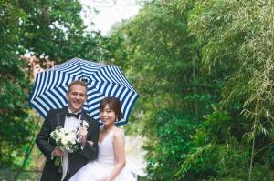 雨の日の結婚式の素敵なジンクス☆