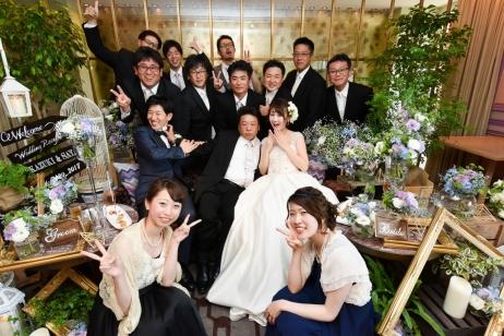 ゲストとの距離が近い結婚式♡