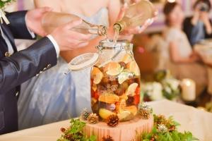 結婚式の新しい演出【果実酒作り】